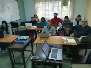 foto de grupo de asistentes a la capacitación