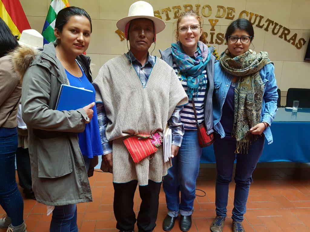 Los Uru se unen para reclamar sus derechos ancestrales